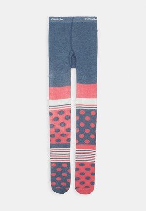 PASTEL TIGHTS - Punčocháče - jeans melange