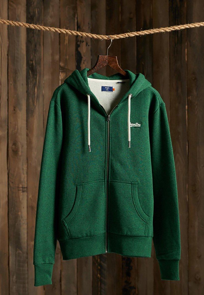 Men ORANGE LABEL - Zip-up sweatshirt