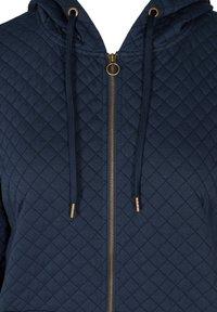 Zizzi - Zip-up hoodie - blue - 3