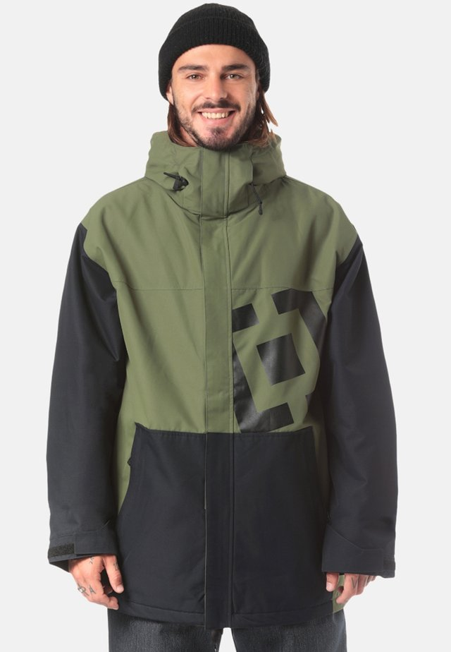 Snowboard jacket - green/anthracite