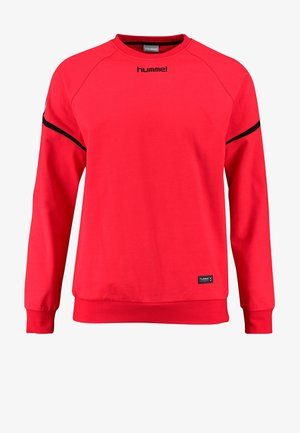 AUTHENTIC CHARGE  - Sweatshirts - red/black