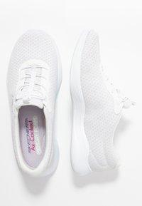 Skechers - ENVY - Slip-ons - white/iridescent/silver - 3