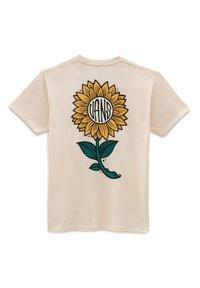 Vans - MN PLANTA SS - T-shirt print - antique white - 1