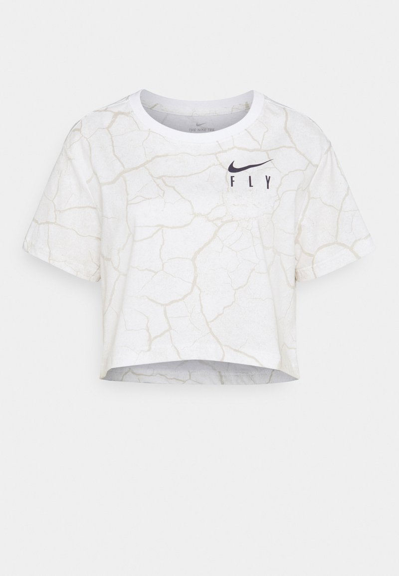 Nike Performance - CROP TEE - Camiseta estampada - white