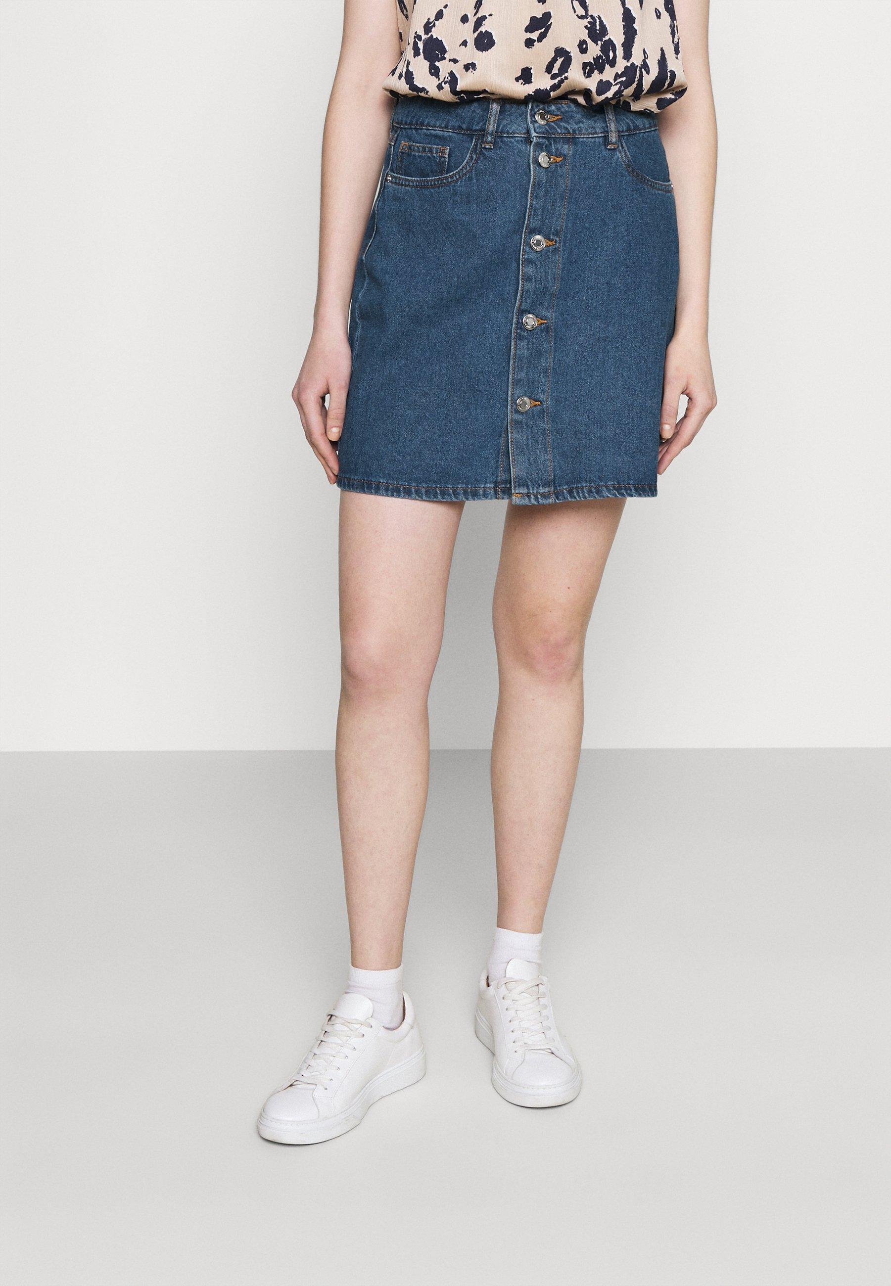 Women VMHARPER SKATER SKIRT - Mini skirt