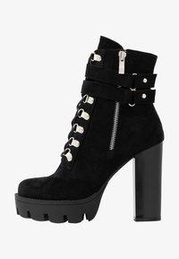 RAID - LONDON - Kotníková obuv na vysokém podpatku - black - 1