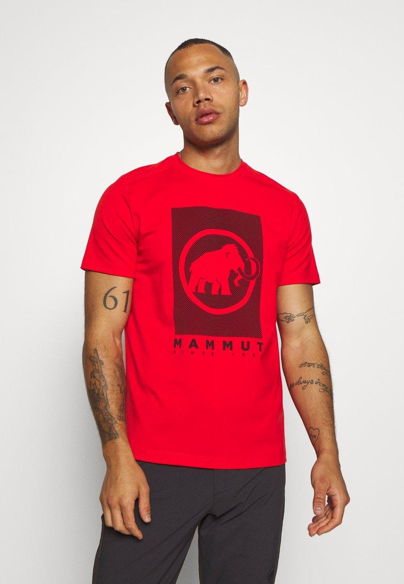 Mammut - TROVAT - T-Shirt print - spicy