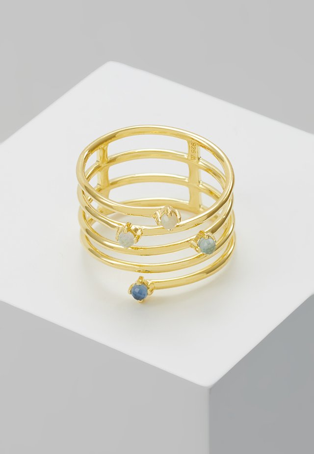 ULTRAMARINE - Ring - gold-coloured