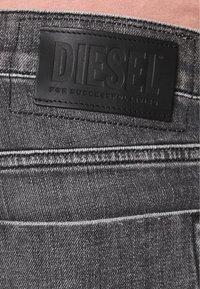 Diesel - TEPPHAR-X - Jeans Skinny Fit - black denim - 5