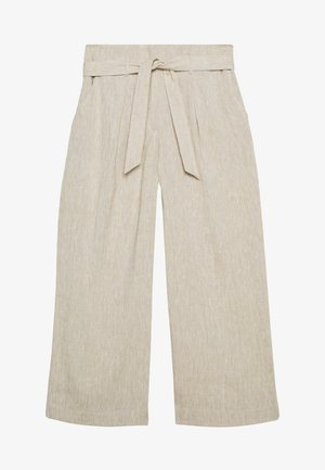 CORELIA - Trousers - soft stone