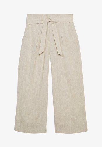 CORELIA - Trousers - soft stone
