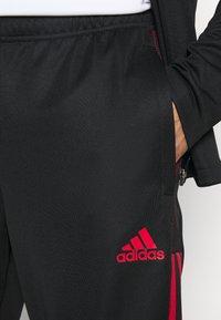 adidas Performance - FC BAYERN MÜNCHEN SUIT - Fanartikel - black - 5