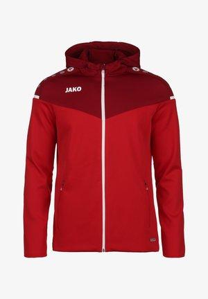 CHAMP - Training jacket - rot / weinrot