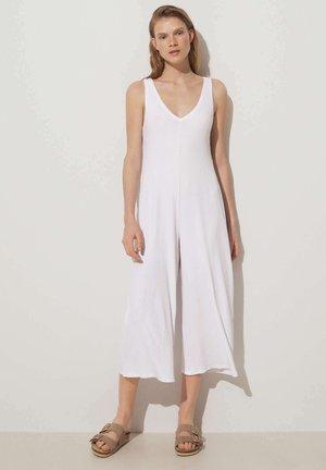 Tuta jumpsuit - white