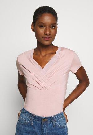 OVERLAP - T-Shirt print - old pink