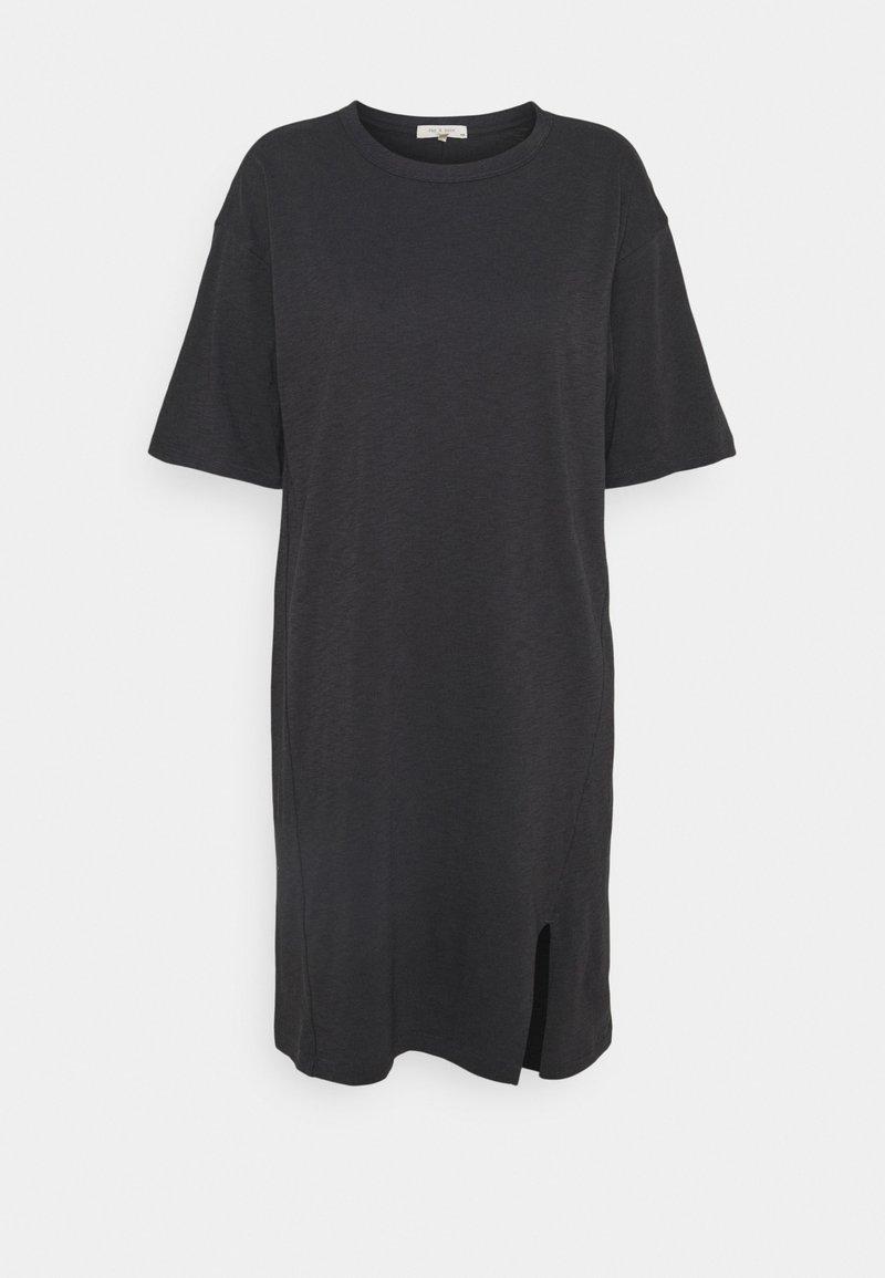 rag & bone - THE SLUB DRESS LABEL - Jersey dress - black