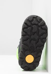 Lurchi - KEKO SYMPATEX  - Winter boots - atlantic/neon yellow - 4