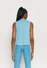Nike Performance - CROCHET TANK - Camiseta de deporte - cerulean/sail/armory blue - 2