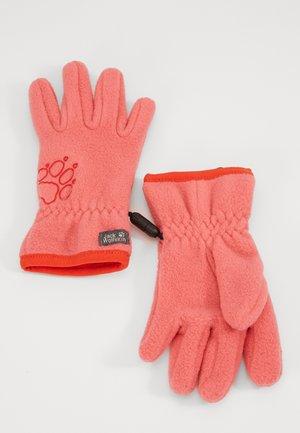 BAKSMALLA GLOVE KIDS - Fingerhandschuh - coral/pink