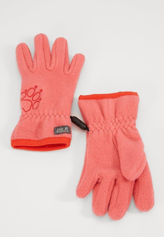 BAKSMALLA GLOVE KIDS - Handschoenen - coral/pink