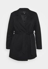 Vero Moda Curve - VMVERODONA TRENCHCOAT CURVE - Klasický kabát - black - 0