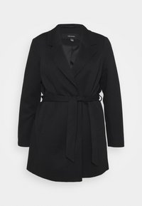 Vero Moda Curve - VMVERODONA TRENCHCOAT CURVE - Classic coat - black - 0