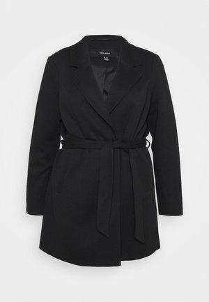 VMVERODONA TRENCHCOAT CURVE - Classic coat - black