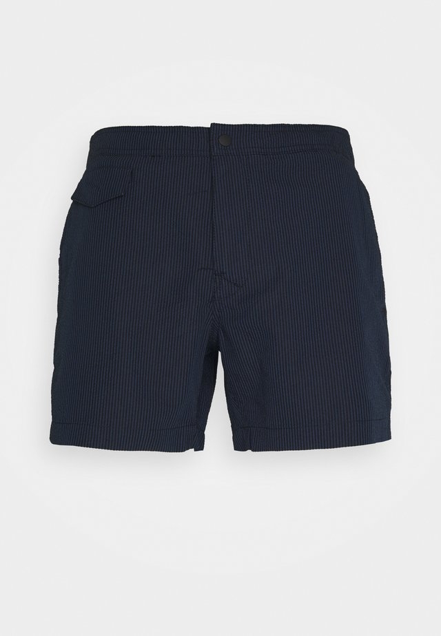 POOL - Zwemshorts - navy/white