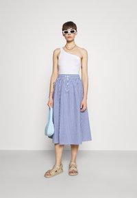 Monki - A-line skirt - blue/bright - 1