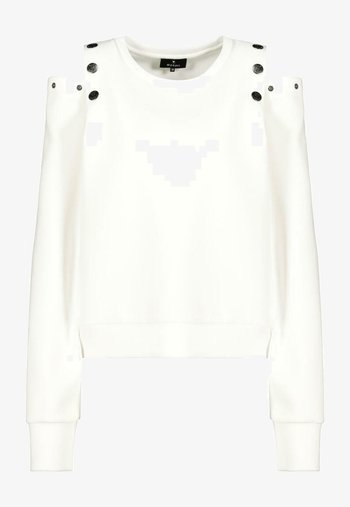 MIT VARIABLEN CUT-OUTS - Blouse - off white
