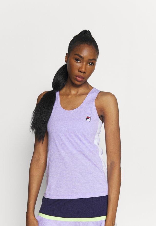 SERA - Top - purple melange