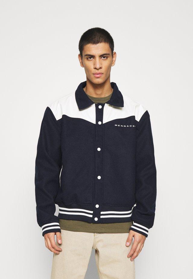 SHADOW JACKET - Summer jacket - dark blue