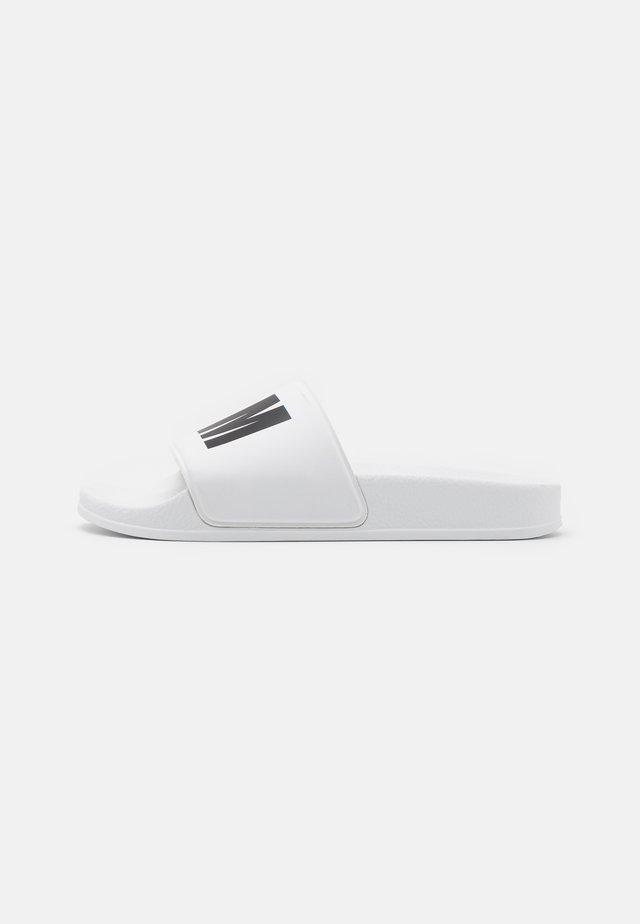 UNISEX - Pantofle - white