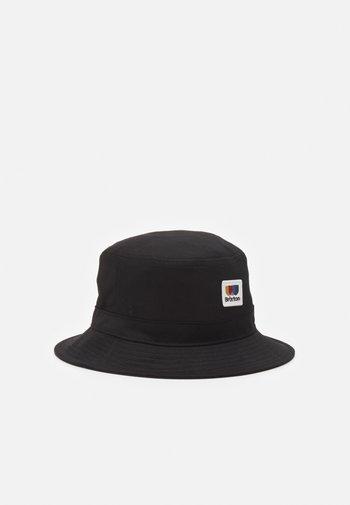 ALTON PACKABLE BUCKET HAT UNISEX - Klobouk - black