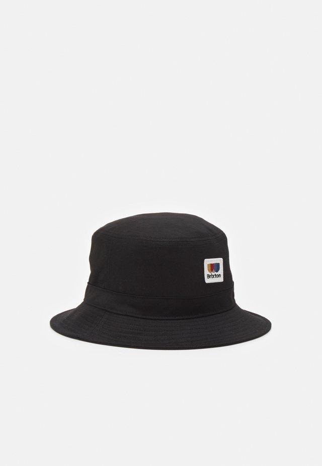 ALTON PACKABLE BUCKET HAT UNISEX - Hat - black