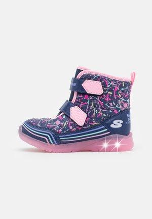 ILLUMI BRIGHTS - Boots - navy/pink
