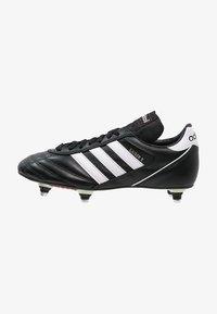 adidas Performance - KAISER 5 CUP - Nurmikengät - black/white/red - 0