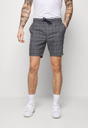 ONSLARRY CHECK - Shorts - titanium