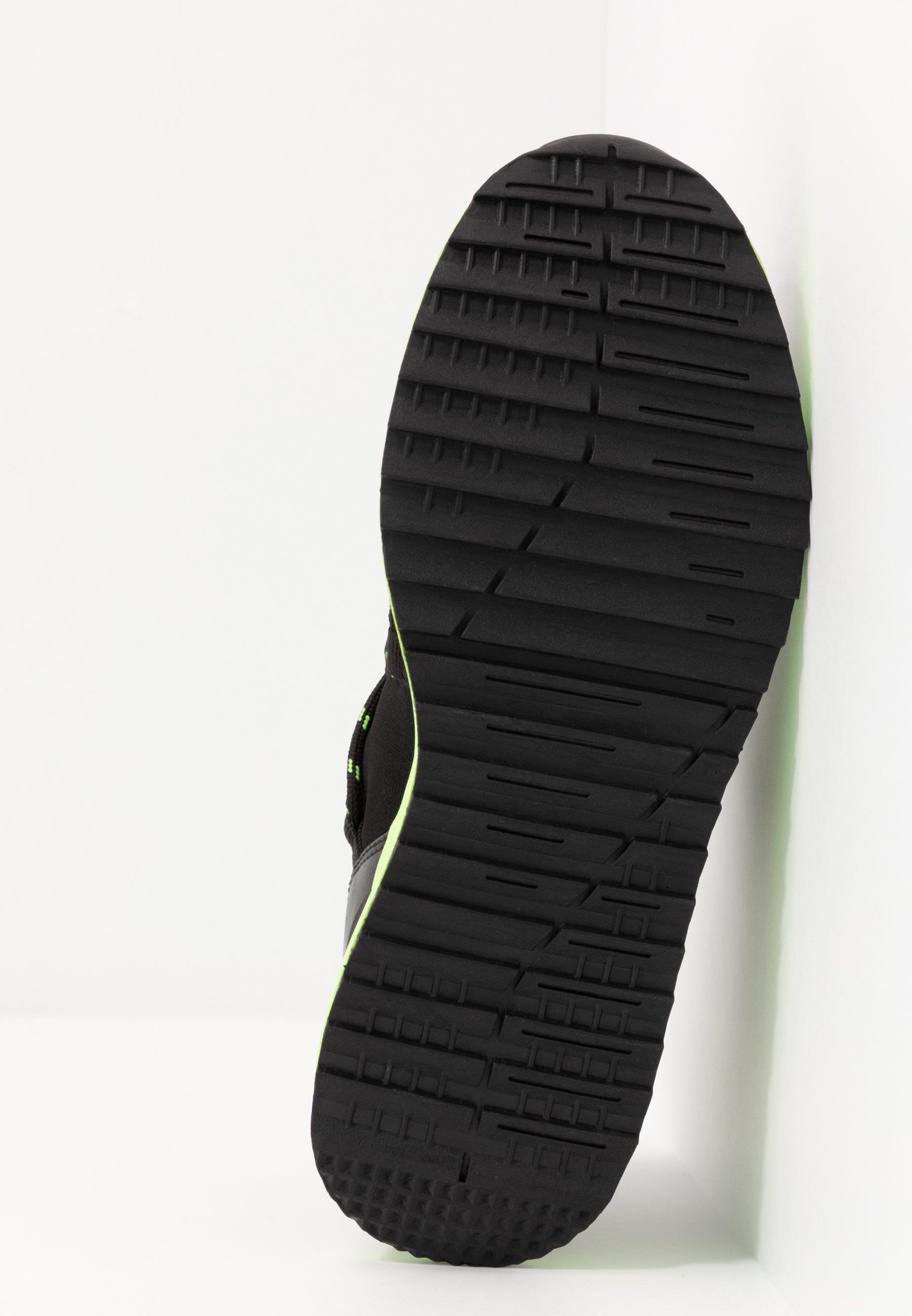 Versace Jeans Couture Sneaker low - black/neon/schwarz - Herrenschuhe 8u4eb