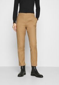 Marc O'Polo - TORUP - Trousers - true camel - 0