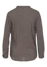 More & More - MINIMALPRINT - Button-down blouse - schwarz - 2