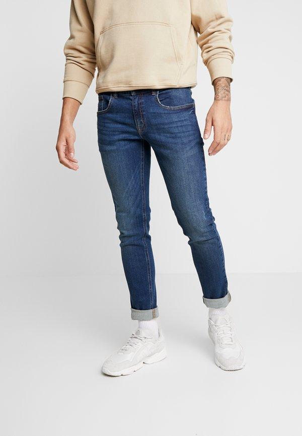 Redefined Rebel COPENHAGEN - Jeansy Slim Fit - pure indigo/niebieski denim Odzież Męska XNDF