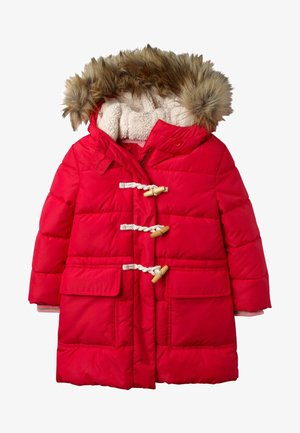 Winter coat - summer poppy red