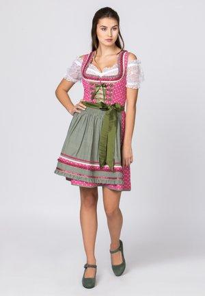 MARTINA - Dirndl - pink-grün
