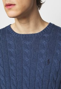 Polo Ralph Lauren - CABLE - Pullover - derby blue heather - 5