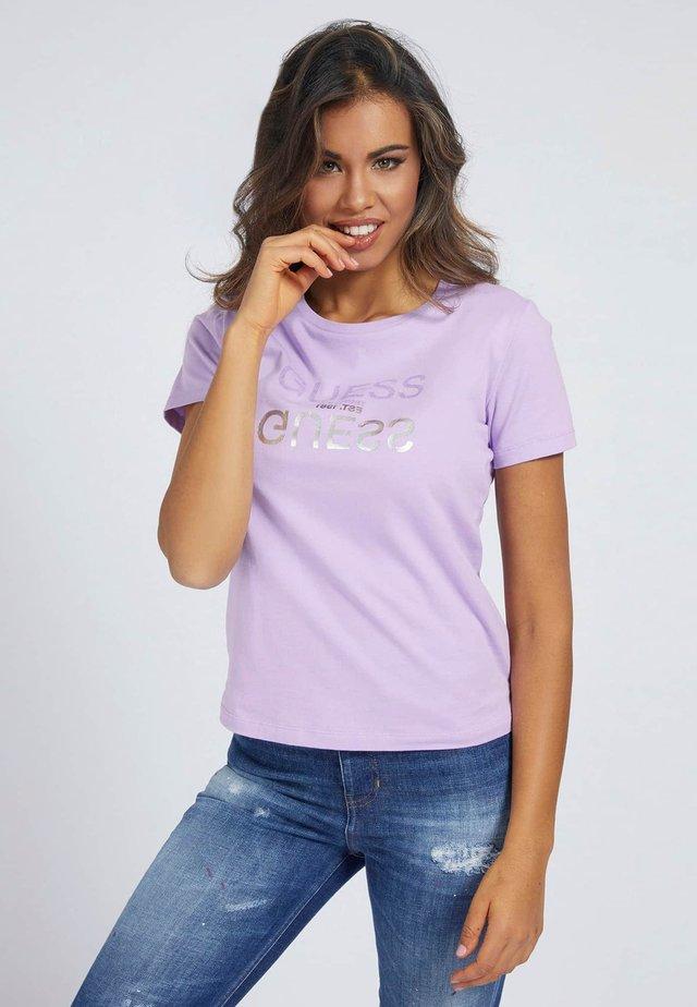 T-shirt print - violett