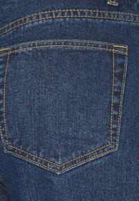 Object - OBJVINNIE MOM - Džíny Relaxed Fit - dark blue denim - 2