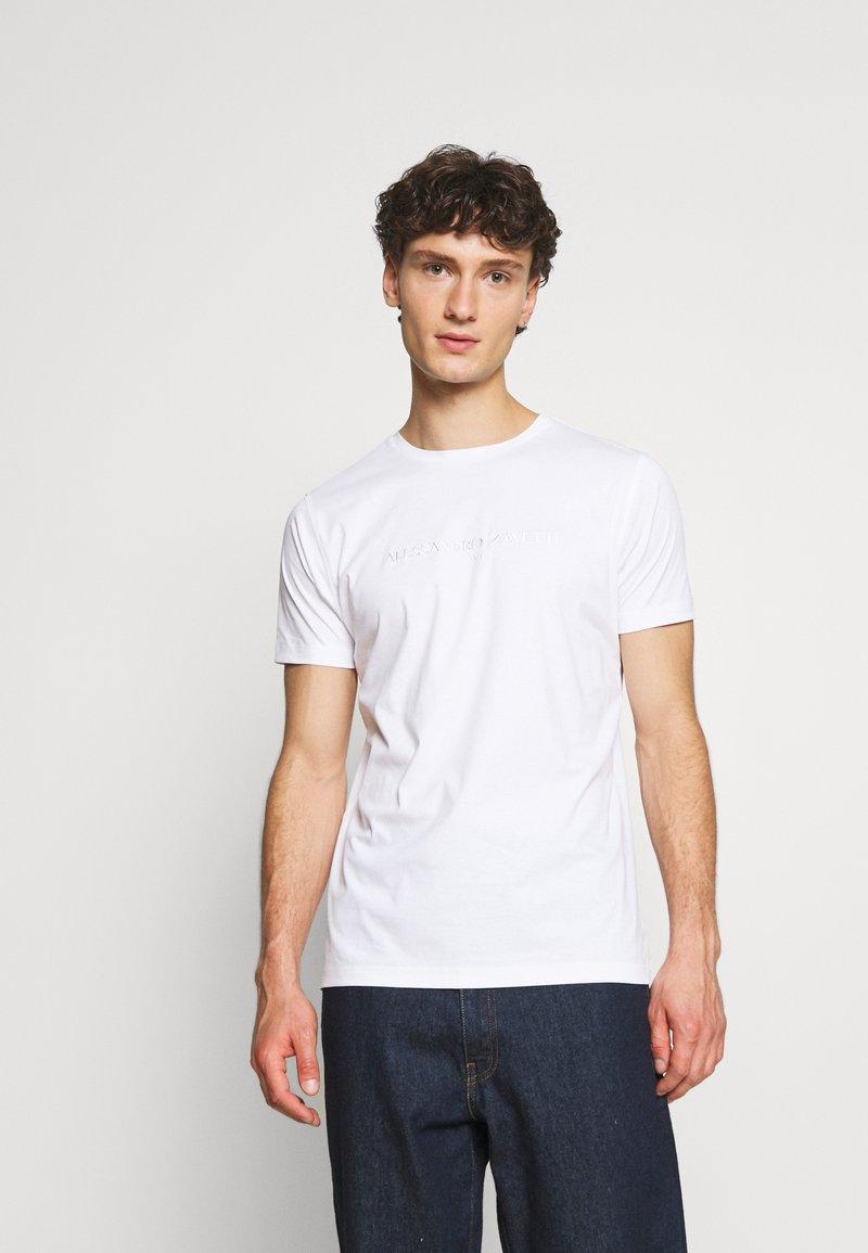 Alessandro Zavetti - DEMINIO  - Jednoduché triko - white