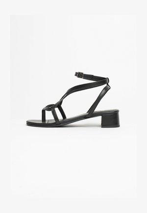 HALONA - Højhælede sandaletter / Højhælede sandaler - black