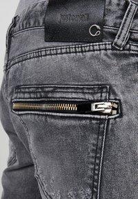 Just Cavalli - Jeans Slim Fit - black denim - 6